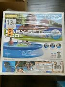 Intex 13ft X 33in Easy Set Above Ground Swimming Pool With Filter Pump Ships Now