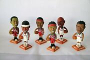 Clippers Bobbleheads- Elton Brand, Maggette, Dooling, Miles, Odom And Richardson