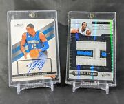 Dwight Howard 2010-11 Absolute Tools Of The Trade Game Used Jumbo Prime 5/5 Lot