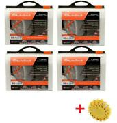 Autosock Hd Al79 4 Sets Snow Sock Set W/ Rechargeable Emergency Safety Flare