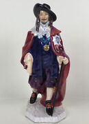 Royal Doulton King Charles Hn3459 Figurine Red / C.1992 Noke / Museum Quality