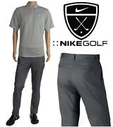 Nike Golf Performance Tech Flat Front Pants/polo Shirt Menand039s Xl 38x32 New+tags