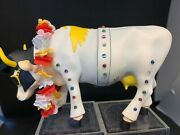 Cow Parade Rock-n-roll Cow 2001 Rare And Retired 9137