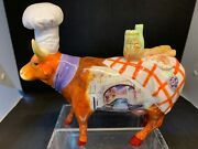 Cow Parade Cowand039rrabbaand039s 2001 Rare And Retired 7309