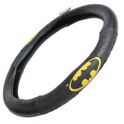 Dc Comics Batman Leather Steering Wheel Cover Universal Fit For Cars Trucks Suvs