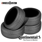 4 X New Continental Extremecontact Sport 305/30r20 103y Performance Summer Tire