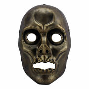 Halloween Masquerade Costume Mask Resin Death Eater Harry Potter Movie Props Cos