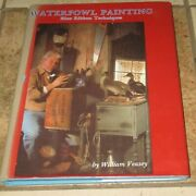 Waterfowl Painting Blue Ribbon Techniques William Veasey Hc Dj