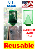 Fly Trap Ranch Reusable Catcher Killer Cage Net Pest Bug Catch Hanging Horse Fly
