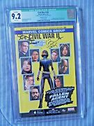Civil War Ii 0 Agents Of Shield Variant Cover Signed Clark Gregg And Bennet