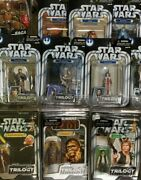 Star Wars Action Figures - Original Trilogy Legacy Saga And More - Your Choice