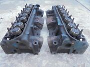 No Shipping Local Pickup Only Pontiac 5c-8 400 V8 Cylinder Heads 5c
