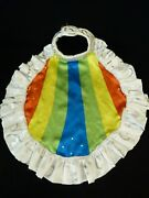 Build A Bear My Little Pony Pride Rainbow Dash Cape Clothing Colorful Accessory