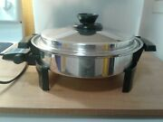 West Bend Kitchen Craft Waterless Cookware Electric Skillet