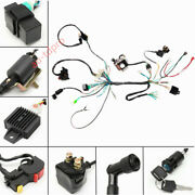 Cdi Wiring Harness Coil Stator Assembly Atv Electric Quad For 50 70 90 110 125cc