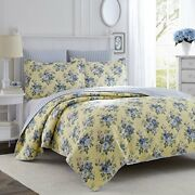 Laura Ashley Linley Quilt Set Twin