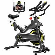 Indoor Exercise Bike Stationary Cycling Bike With Ipad Holder For Home
