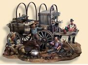 Chuck Wagon 1880andacutes Painted Tin Toy Soldier Miniature Pre Sale | Art Quality