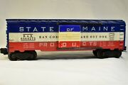 Lionel 6464-275 Boxcar, State Of Maine B.a.r.
