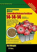 Southern Ag Controlled Release Fertilizer 14-14-14, Contains Osmocote, 5 Pound