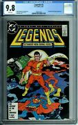 Legends 5 Cgc 9.8 White Pages President Ronald Reagan Appearance New Cgc Case