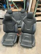 2014 - 2017 Audi S5 A5 Set Of Front And Rear Seats Coupe Electric Sport