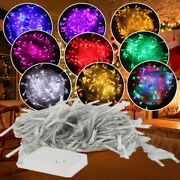 Waterproof Led Christmas Tree String 100- 1000leds Lights Party Home Decor Lamp