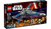 Lego 75149 Star Wars Resistance X-wing Fighter Blue Sealed Retired
