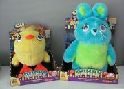New Lot Toy Story 4 Signature Collection Talking Ducky And Bunny Plush