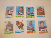 Lot Of 26 1968 Football Cards - Assorted Players - Ofc-5