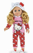 My Life As Hello Kitty 18 Poseable Doll Blonde Hair New Release In Hand