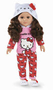 My Life As Hello Kitty 18 Poseable Doll Brunette Hair New Release Htf