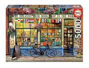 New Educa Jigsaw Puzzle 5000 Pieces Tiles Greatest Book Shop In The World