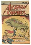 Action 1 - 1976 - Dc - Nm- - Comic Book