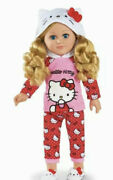 My Life As Hello Kitty Doll Blonde Hair 18 Posable