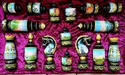 Exclusive Chess Set, Chess Pieces Chessboard Hand-painted Carving Expensive Gift