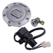Motorcycle Ignition Switch Lock Gas Cap Key Kit Fit For Yamaha Yzf R1 R6
