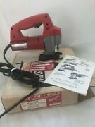 Milwaukee Top Handle Jigsaw Variable Speed 120 V New Old Stock 6255