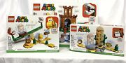 Lego 71362,71365,71363 Super Mario Guarded Fortress Expansion Set 468 Pieces Lot