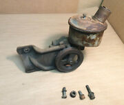 1961 - 1963 And Other Thunderbird 390 Power Steering Pump Pulley Bracket Non-a/c
