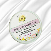 Magnesium Body Butter Cream For Restless Tingling Legs And Muscle Cramps Sleep Aid