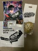 Persona Super Live 2017/2019 Goods Japan Limited Very Rare Commemorative Coins