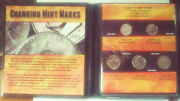 Changing Mint Marks Guide To Mint Marks 5 Coin Set Us-188