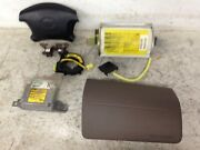 2000 Toyota 4runner Airbag System Complete With Module And Clock Spring And Sensors