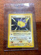 Pikachu Pokemon Card 1999 70/111 Great Collector's Item Excellent Condition