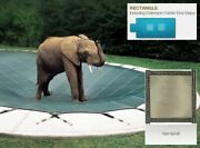 Looploc Solid Tan Cover For 16 X 32 Pool Mesh Drain Panels 4 X 6 Center End