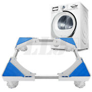 Universal Adjustable Washing Machine Floor Stand For Fridge Movable Trolley Base