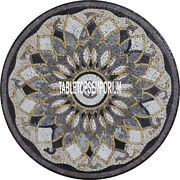 36and039and039 Marble Center Round Dining Table Top Handmade Inlay Halloween Patio Decor