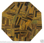1and039x1and039 Marble End Coffee Table Top Rare Inlay Gemstone Mosaic Outdoor Home Decor