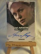 X3 X-men Iii The Last Stand Autograph Card Anna Paquin Rogue